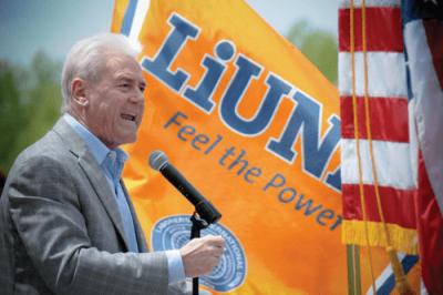 LiUNA Feel the Power speaker