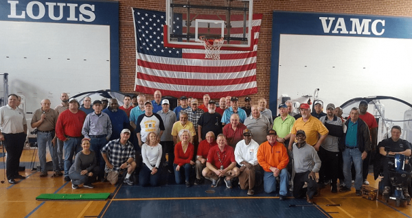 The LiUNA Midwest Regional Laborers' Veterans Committee group photo