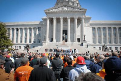 Governmental Affairs Rally